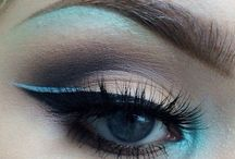 Eye & Brow Makeup Goals / Eye & Brow Makeup Goals | Flawless eyeshadow, razor sharp winged eyeliner, beautiful fluttery lashes and bold brows.