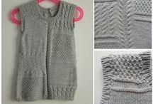 abiti e completi a maglia