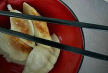 Yummy Asian dumplings / I love making and eating dumplings/wontons/potstickers - more inspiration for me to try!