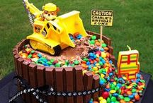 Kids party food / Cool ideas for my nephews birthday parties