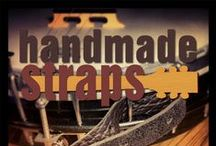 Handmade Straps / Handmade Straps is a Pittsburgh-based online business founded by yours truly, Amanda Brewer. I specialize in making the most unique, durable and comfortable straps for guitar, banjo, ukulele, and mandolin.   What's cool about Handmade Straps? They're made in the USA by very few, real people, usually just me, and there will be a limited number of each strap made.  The perfect way to dress up your instrument and an easy gift for every musician in your life!