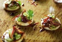 Canapes / Finger food, starters, appetisers and all things small