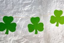 Luck of the Irish. / Kids crafts, party games and green-inspired food for the perfect St. Patrick's Day Bash!