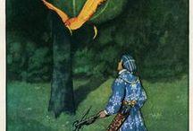 The World of Fantasy & Fairy Tales / Otra mirada del mundo a través de las ilustraciones de fantasía.