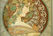 Mucha ´s Book / The  Art Nouveau Era & Alphonse Mucha