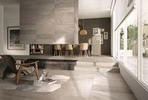 RE-WORK / gres porcellanato a massa colorata // colored body porcelain tiles #abk #ceramica #ceramics #design #tile #floor #wall