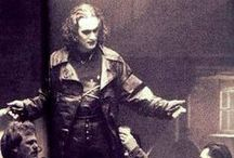 the crow - behind the scenes