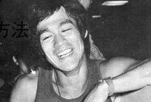 my hero Bruce Lee