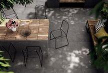 ABK OUTDOORS / #Gres #porcellanato con finiture specifiche per l'utilizzo #outdoor