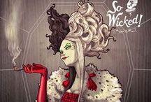 Miss Cruela de Vil