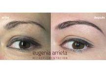 Micropimentación cejas / Trabajos realizados en el centro Eugenia Arrieta Micropigmentación.