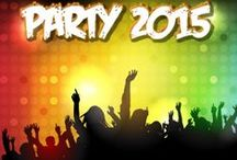 EVENT & PARTY POSTER / Print on demand: Party and event flyer. Online customization, ready-made templates.