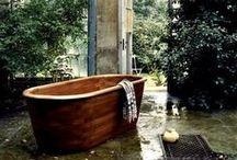 Bath Time / Lazy days soaking in the bath tub.