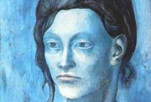 blue period, pablo picasso - 1901-03