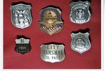 Kolekcjonerskie odznaki USA - Sheriff, police, security, detective / Wiernie odzworowane repliki odznak różnych służb amerykańskich
