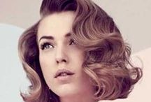 RETRO / Images of retro style make-up and hair.