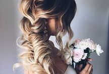 WEDDING INSPIRATION / Inspiration, images, and instructions for beautiful wedding day hair and make-up.