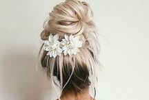 UPDO HAIR / Inspiration and tutorials for undo hairstyles