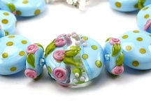 lampwork beads hippkitty beads