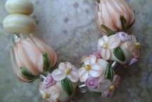 lampwork beads blissfulgardenbeads