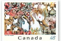 Stamps / Canada Post'a Tributes to Canadian Art