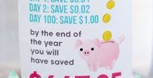 Saving Money Tricks & Tips / Saving money NEVER goes out of style! Frugal tips, money saving ideas, and resources to live a life full of abundance on the cheap | SarahTitus.com
