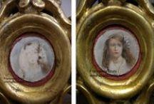 My restorations / realizzazione di restauri, dipinti su tela, tavola, vetro etc.