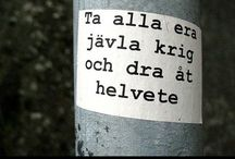 Finfula stavelser. / Swedish texts and words I love.