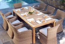 Patio Furniture Dining Sets / Outdoor dining sets we offer to our customers in Charlotte, Raleigh and Greenville SC.