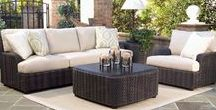 Outdoor Wicker Patio Furniture / Outdoor wicker deep seating sets with sofas, loveseats, chairs, ottomans and sectionals.