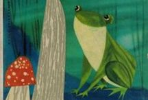 Illustration - FrOgS  &  T o A d S / by Laurie Keller