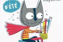 Illustration - Elise Gravel / one of my favorite illustrators! / by Laurie Keller