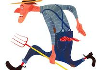 Illustration - people (m E n) / by Laurie Keller