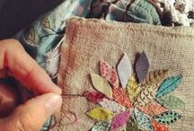 Needle and thread / Embroidery inspiration