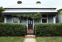 Cottage Comfort / I am dreaming of a cottage nestled in the hills, with an open fire and a white picket fence......