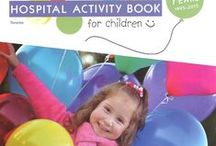Make a Wish Hospital Activity Book for Children / The Mayberry Fine Art Activity Pages