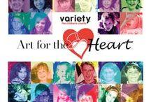 Art Working for Children's Charities / Mayberry Fine Art's Favorite Charities