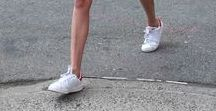 Can I Kick It? / Trend Alert: How to style running shoes. #style
