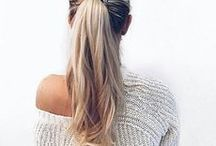 PONYTAILS / The perfect ways to put your hair up!