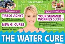 Covers on Our Coffee Table / by FIRST for Women magazine