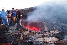 di Salvatore Pittera - Etna il vulcano acese in eruzione 2007