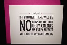 Humor / A little #wedding humor to get you through those stressful #weddingplanning moments.