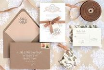 Stationery. / #Wedding Save the Dates, #Invitations, Programs and More!