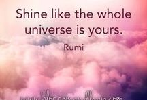 """~Rumi / Rumi's importance is considered to transcend national and ethnic borders. His poems have been widely translated into many of the world's languages and transposed into various formats. He has been described as the """"most popular poet in America"""" and the """"best selling poet in the US"""""""