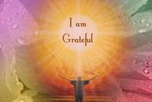 Gratitude / Gratitude, thankfulness, gratefulness, or appreciation is a feeling or attitude in acknowledgment of a benefit that one has received or will receive.  www.myownminister.com