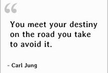 ~Carl Jung / Jung's work on himself and his patients convinced him that life has a spiritual purpose beyond material goals. Our main task, he believed, is to discover and fulfill our deep innate potential.  www.myownminister.com