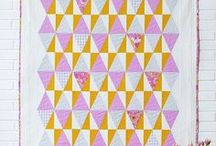 Quilts / Beautiful quilt patterns and inspiration for the modern sewer