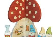 wooden toys / The most beautiful wooden toys, handmade, not-toxic paint