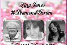 """LJDN 6-23-14 Lina Jones DiamondNetwork """"DiamondForum"""" Show / This was the first #DiamondForum show the #DiamondForum  is comprised from new and past guest. The object is to talk about current issues or issues that effect us and society. This show will air once a month the last Monday of the month and each time there will be a different panel."""