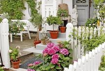 Nice outdoor spaces